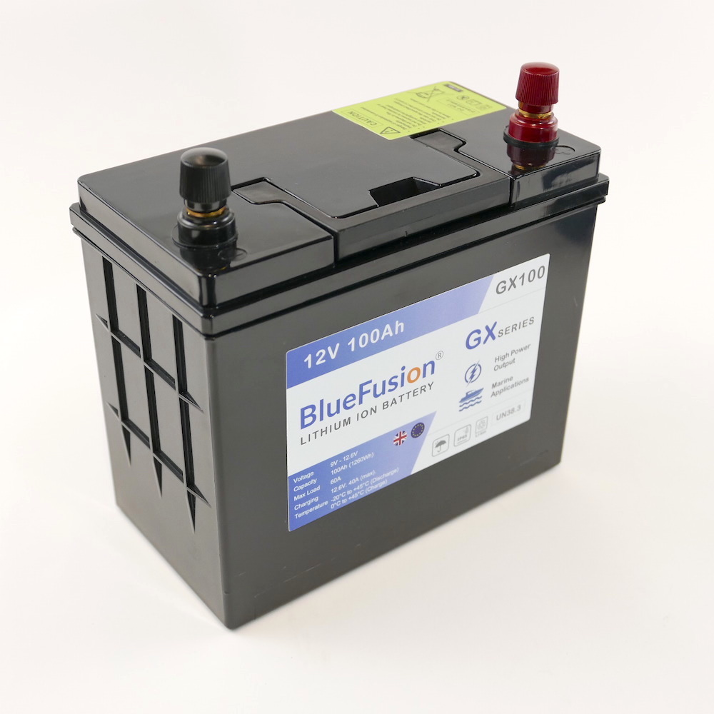 Blue Fusion Lithium Ion Battery GX Series -