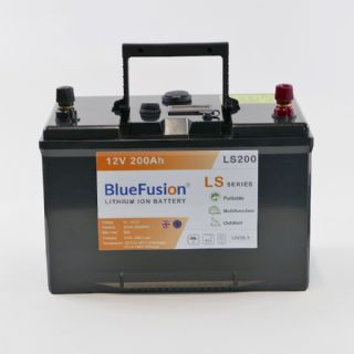 T_LITHIUM ION BATTERY BLUE FUSTION LS200 SERIES PREDATOR TACKLE*