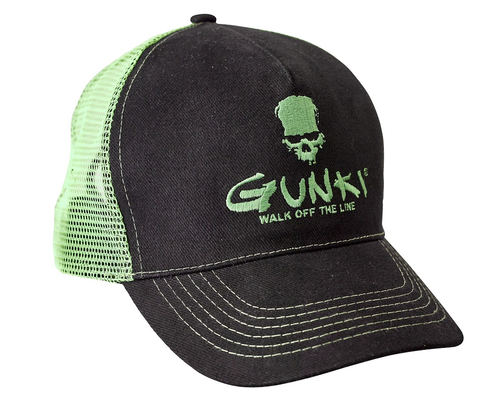 Gunki Trucker Black Green Hat