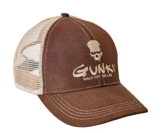T_46811 GUNKI BROWN TRUCKER HAT*
