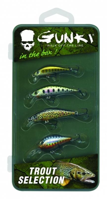 38104f7b3f Gunki Box Trout Selection from Predator Tackle
