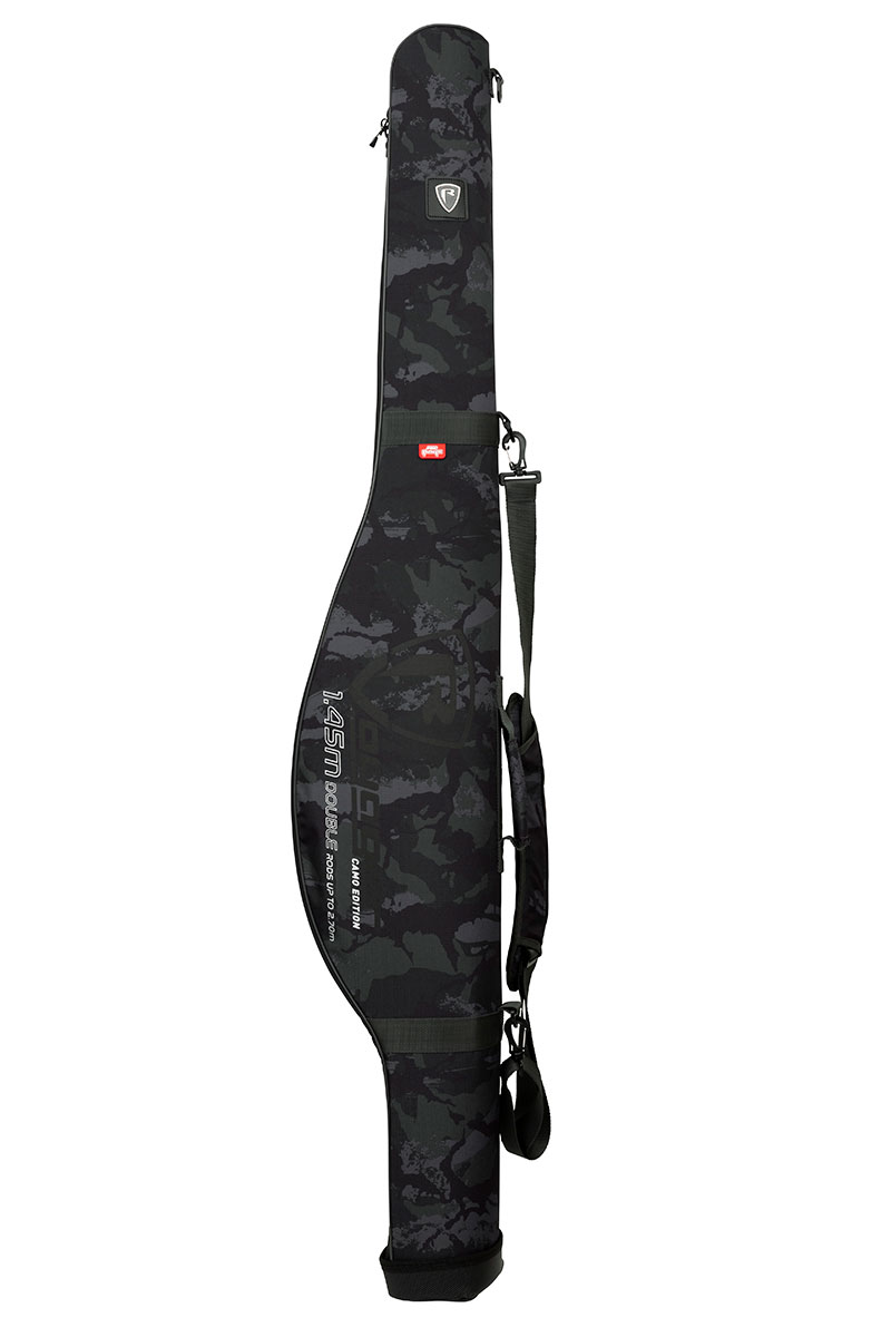 Fox Rage Voyager Camo Double Rod Hard Case -