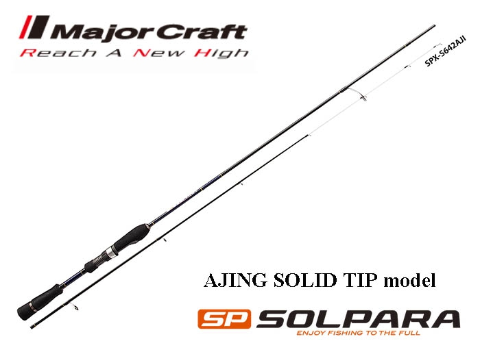 Major Craft Solpara SPX-S682AJI 0.6g-10g