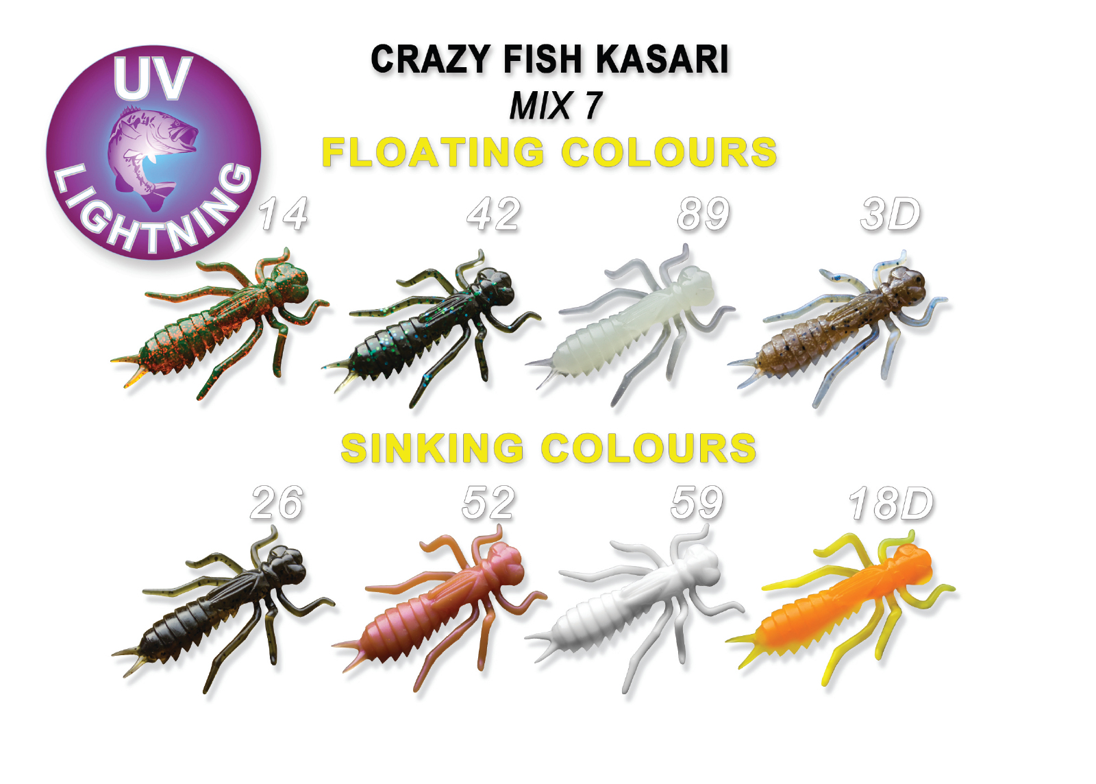 Crazy Fish Kasari -