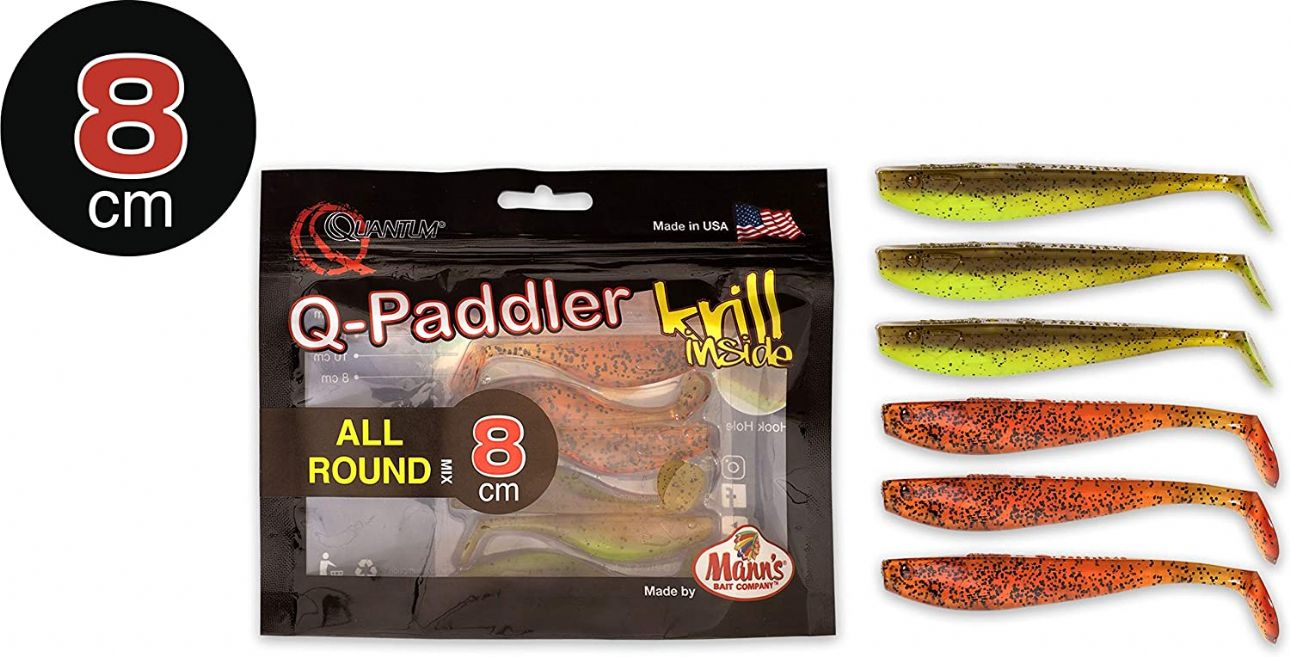 Quantum Q-Paddler Packs 8cm -