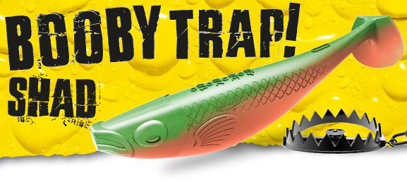 Spro Booby Traps Shads 9cm -