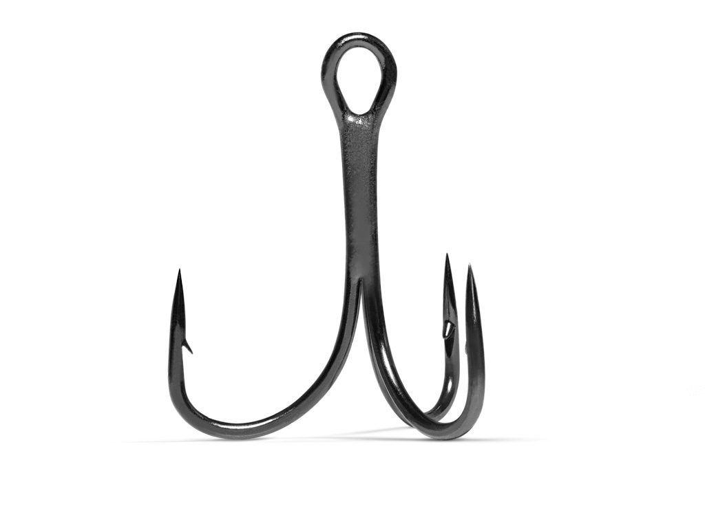 VMC 7552 Light Inline Treble Hook
