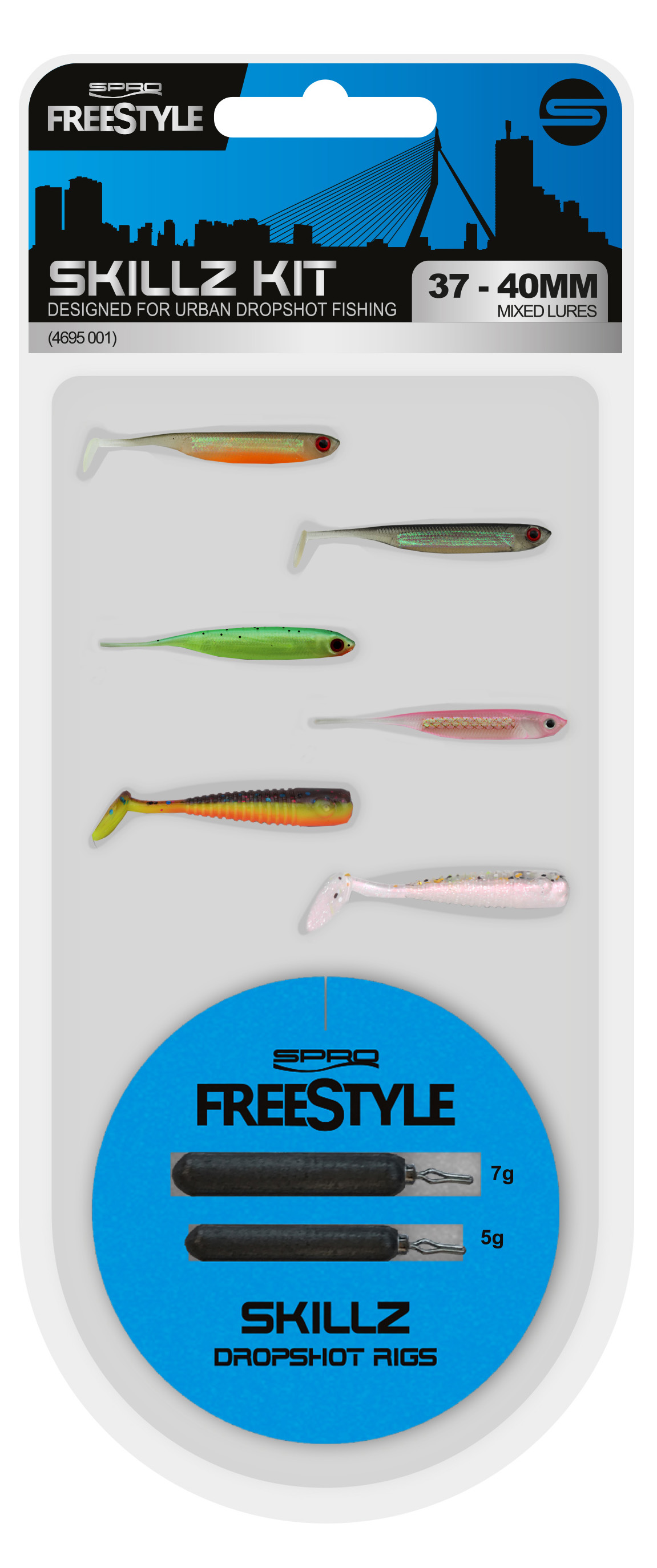 Spro Freestyle Dropshot Kits