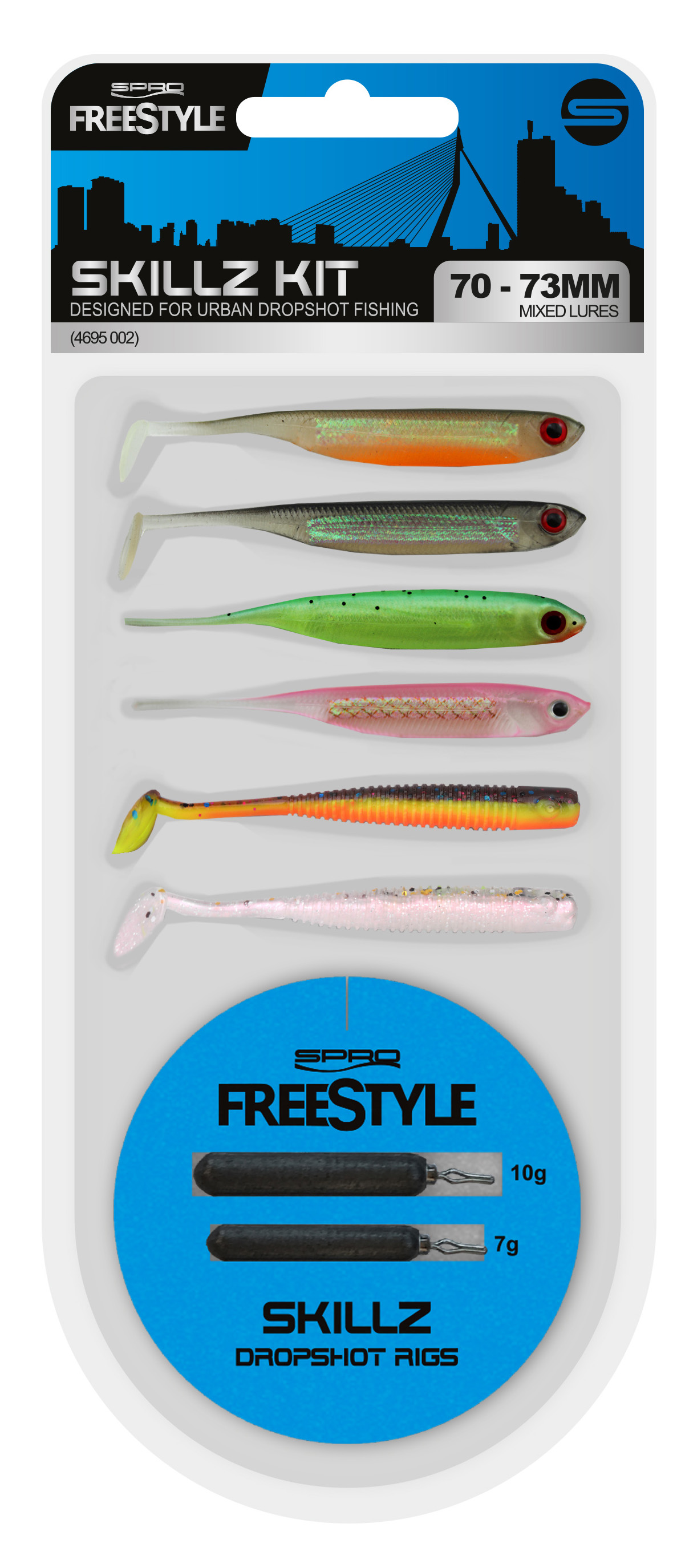 Spro Freestyle/Dropshot Pear Brass 10