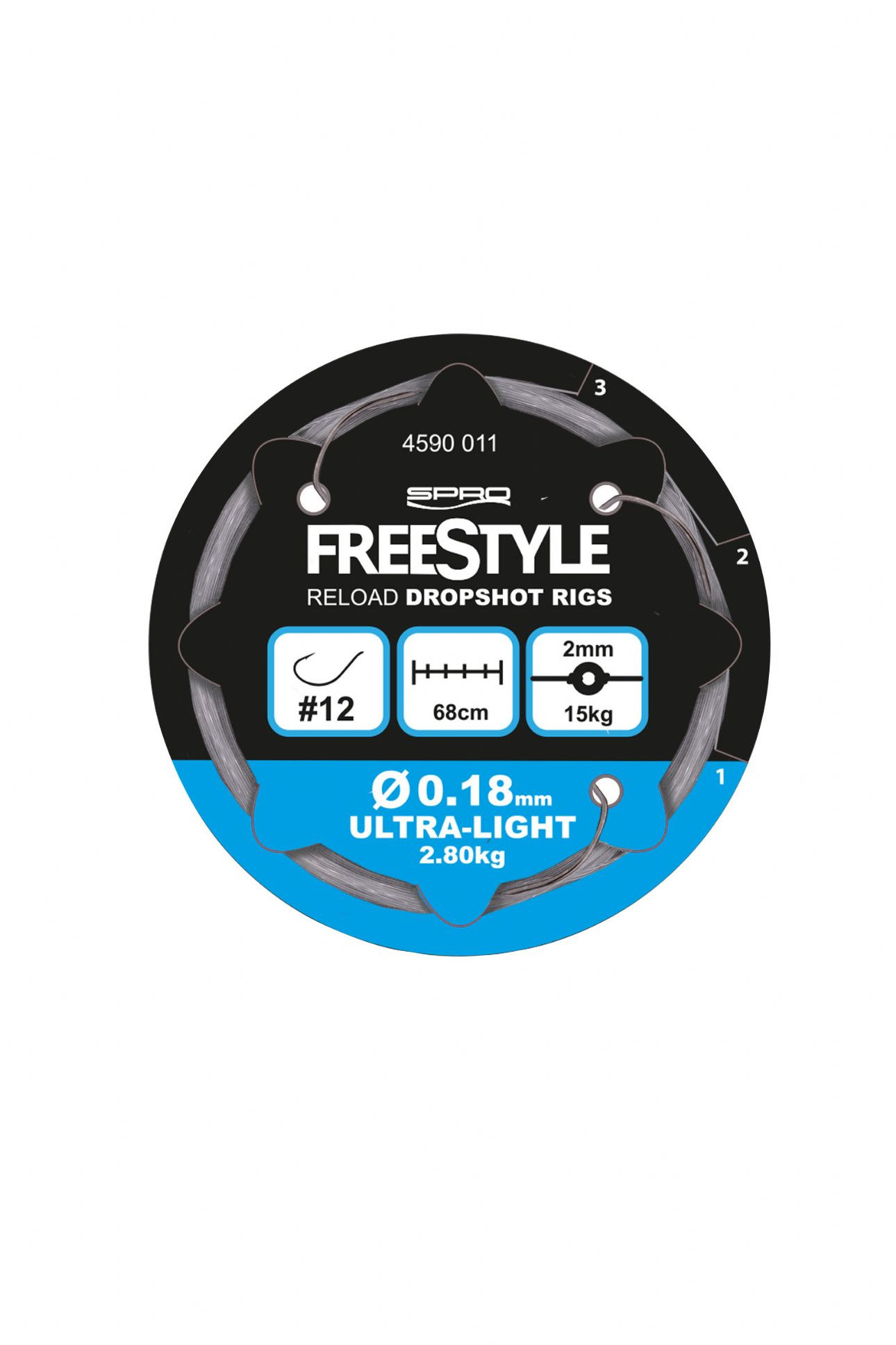 Spro Freestyle Reload Dropshot Rig -