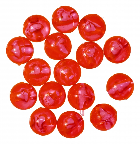 Gunki Carolina Red Beads 6.5mm -
