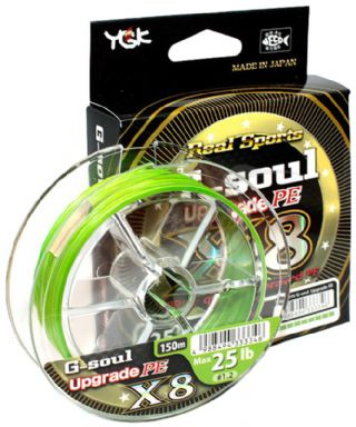 T_YGK G-SOUL X8 UPGRADE BRAID 150M PREDATOR TACKLE*